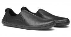 Barefoot VIVOBAREFOOT SLYDE M LEATHER BLACK bosá