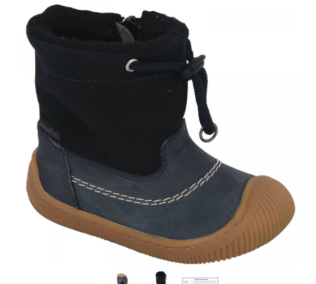 Barefoot Bundgaard Walk Tex Pull On Atlantic Blue bosá