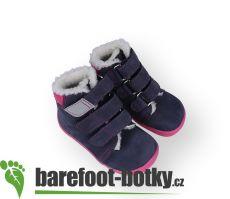 Barefoot Beda Barefoot - Elisha - zimní boty s membránou bosá
