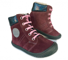 Filii barefoot - EVEREST TEX WOOL berry
