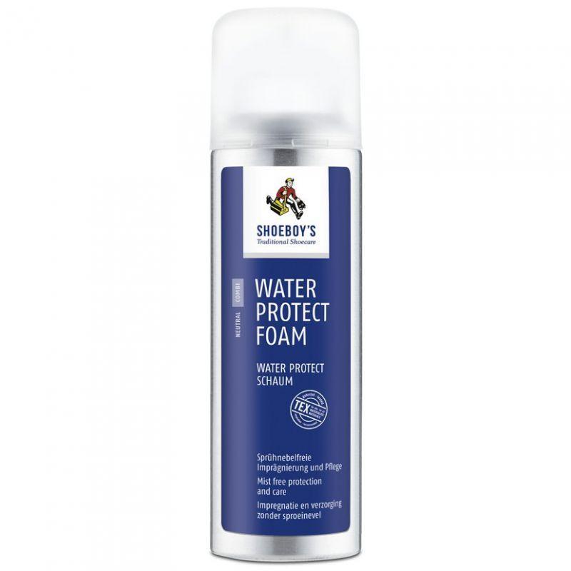 Barefoot Impregnace SHOEBOY´S WATER PROTECT FOAM 200 ml s výživou, PĚNA bosá