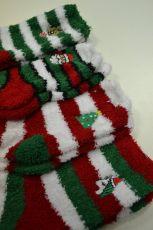 Termo ponožky vánoční - dámské